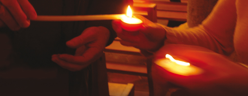 La prière du Nom divin nous aide à nous ancrer dans le présent, là où Dieu se tient.